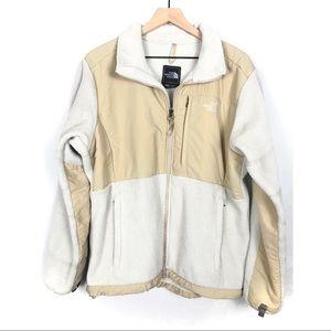 The North Face Denali Fleece Cream Zip Jacket